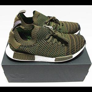 7ea01d70f adidas Shoes -  170 ADIDAS NMD R1 STLT PRIMEKNIT 10.5 OLIVE-BROWN